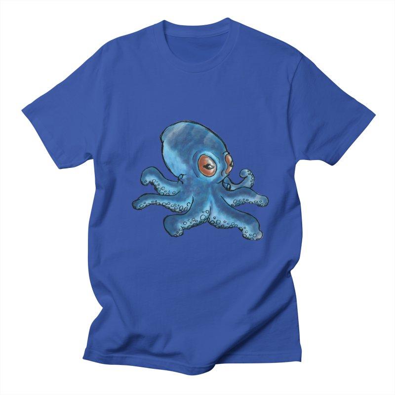 Cephalopodette Men's Regular T-Shirt by Illustrator Dave's Artist Shop
