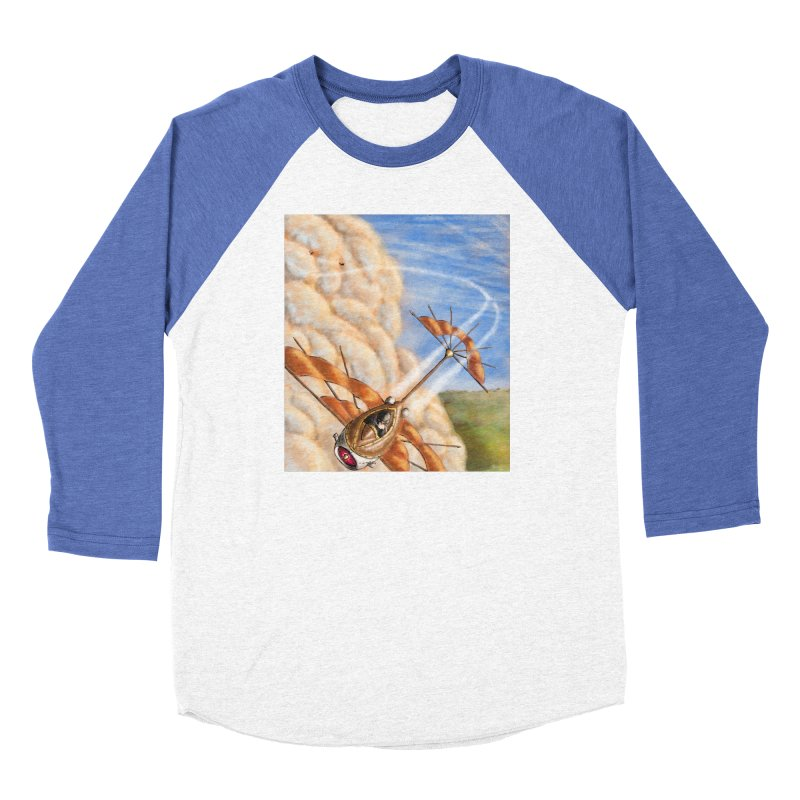 Flying through the clouds. Men's Longsleeve T-Shirt by Illustrator Dave's Artist Shop