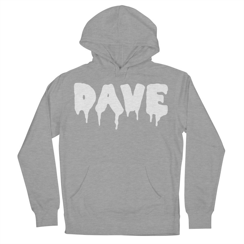 DAVE Men's French Terry Pullover Hoody by Dave Ross's Shop