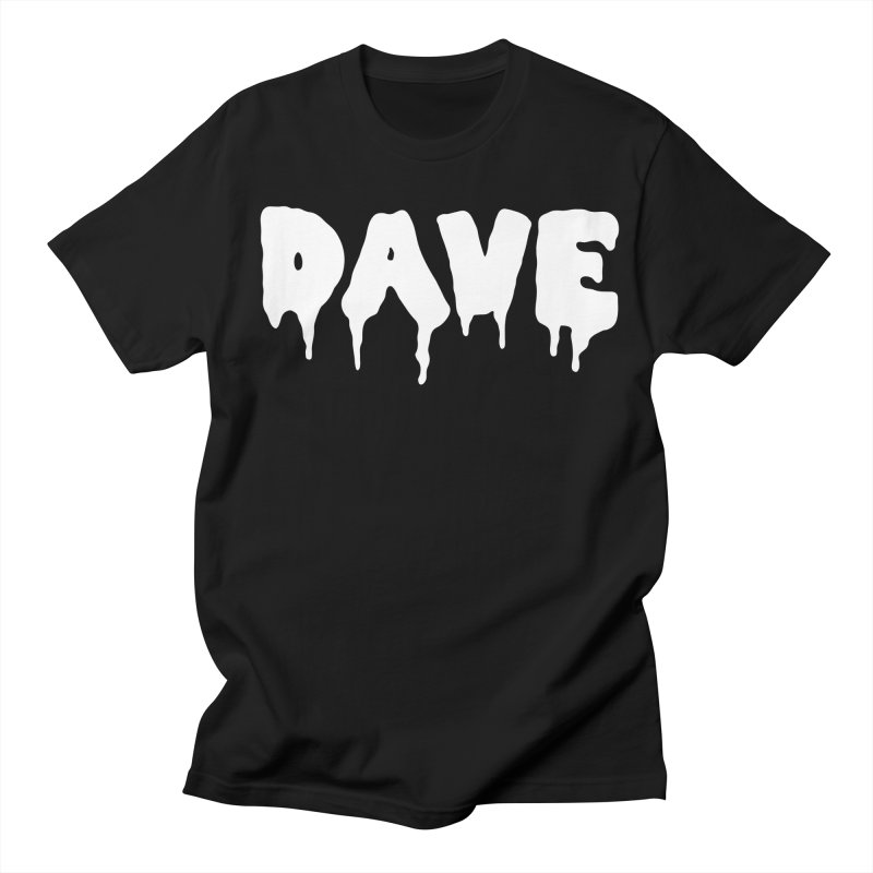 DAVE Men's Regular T-Shirt by Dave Ross's Shop