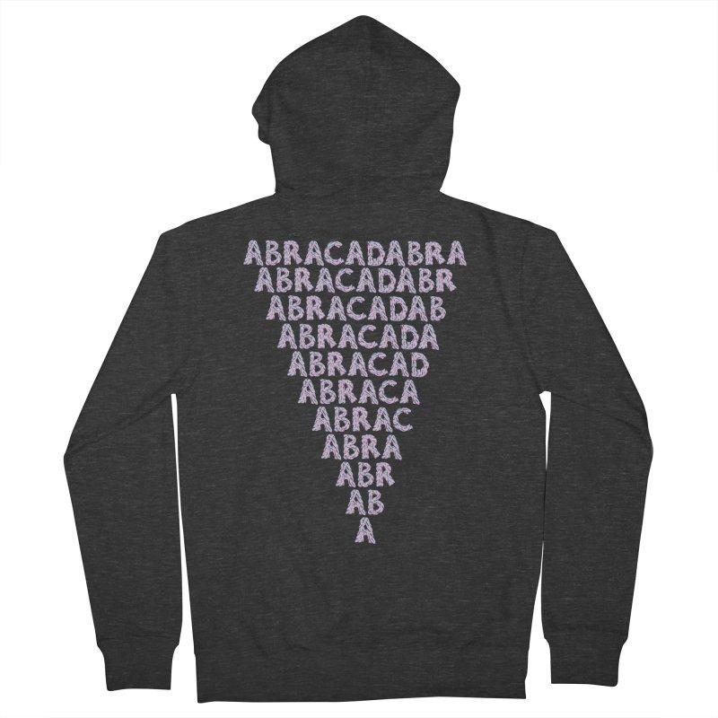 ABRACADABRA, ABRACA-SHMABRA Women's Zip-Up Hoody by daveyk's Artist Shop