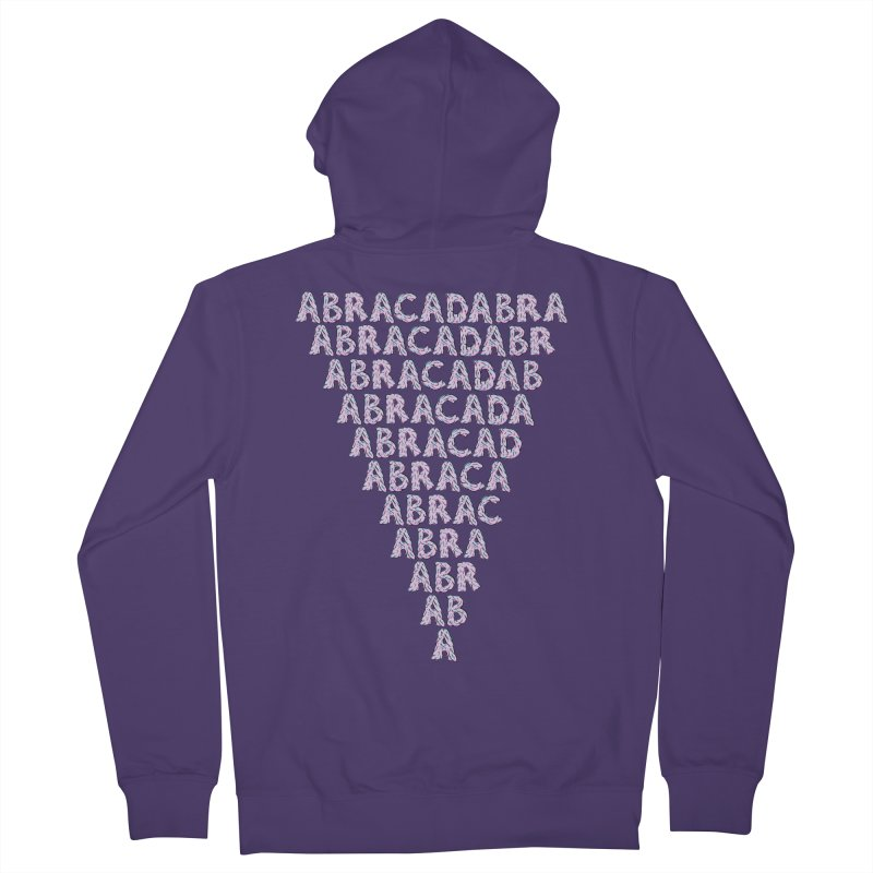 ABRACADABRA, ABRACA-SHMABRA Women's French Terry Zip-Up Hoody by daveyk's Artist Shop