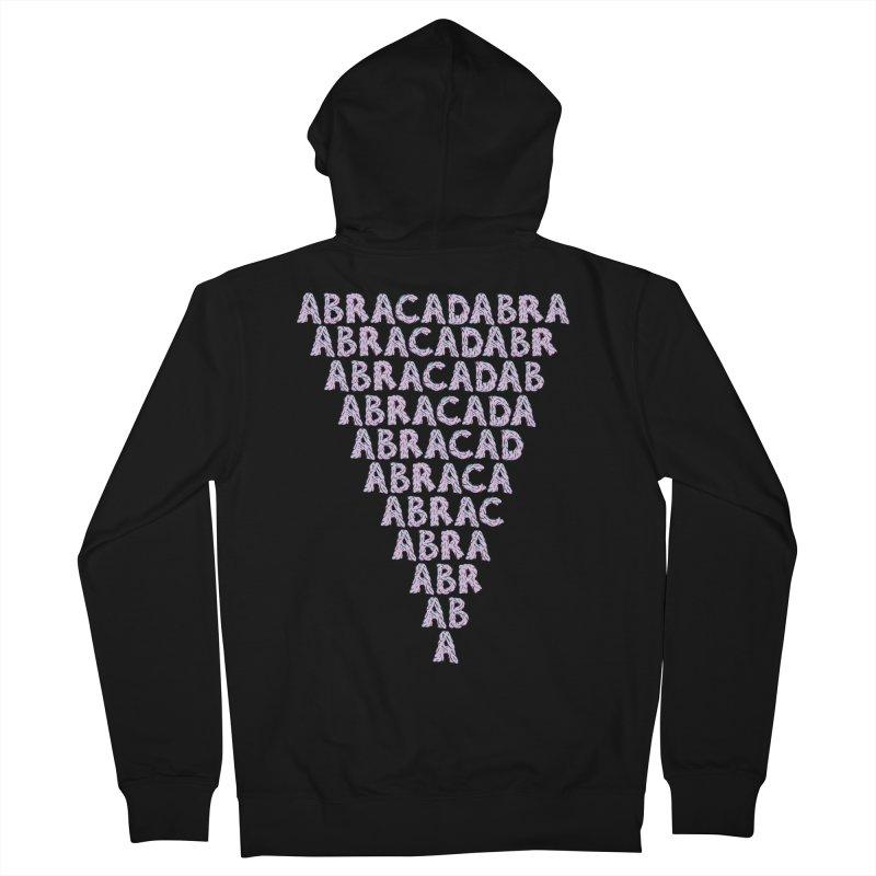 ABRACADABRA, ABRACA-SHMABRA Women's French Terry Zip-Up Hoody by Davey Krofta