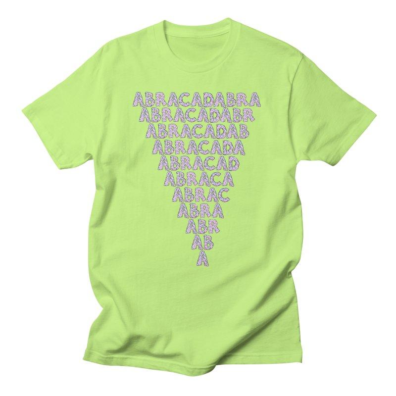 ABRACADABRA, ABRACA-SHMABRA Men's Regular T-Shirt by daveyk's Artist Shop