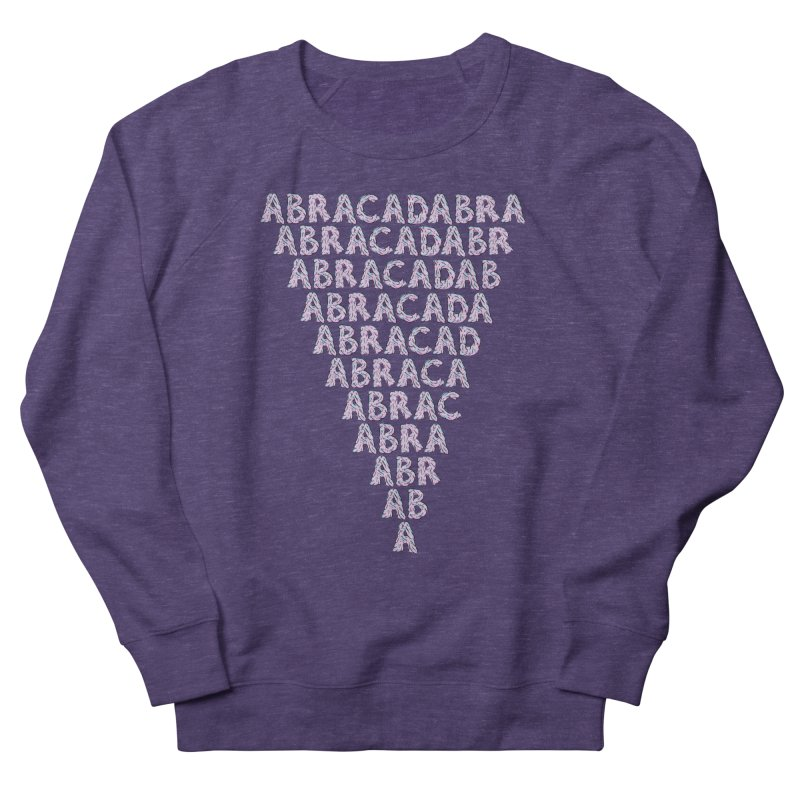ABRACADABRA, ABRACA-SHMABRA Men's French Terry Sweatshirt by Davey Krofta