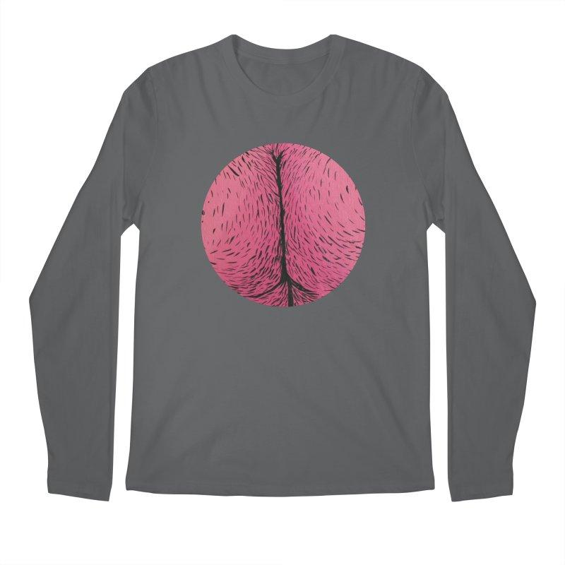 Butts Make Me Nuts Men's Longsleeve T-Shirt by daveyk's Artist Shop