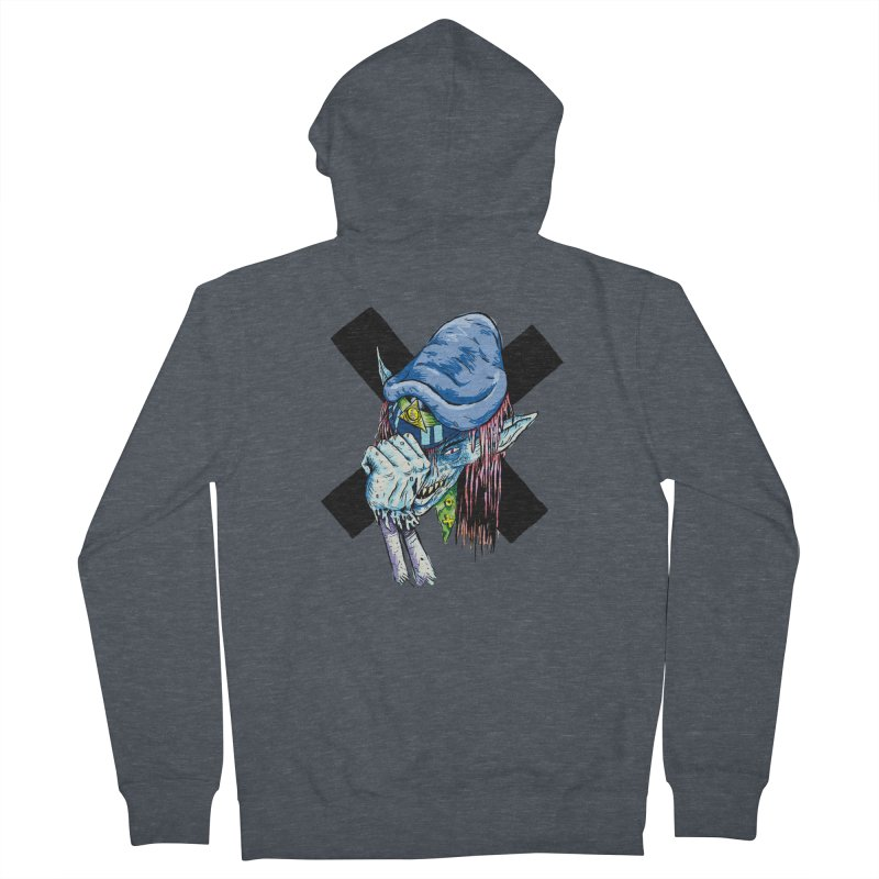 Tip Of The Hat Men's French Terry Zip-Up Hoody by daveyk's Artist Shop