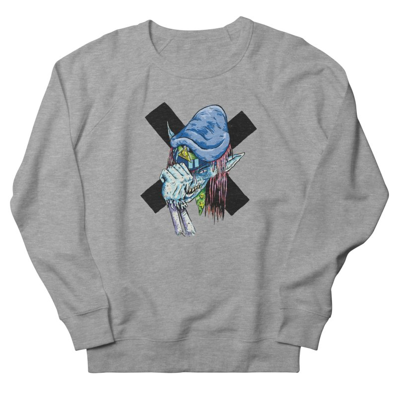 Tip Of The Hat Women's French Terry Sweatshirt by daveyk's Artist Shop