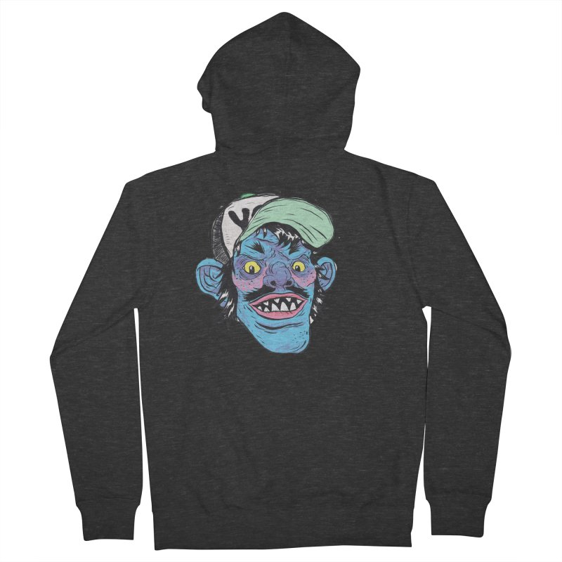 You look good enough to eat. Women's French Terry Zip-Up Hoody by Davey Krofta
