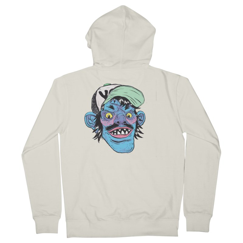 You look good enough to eat. Women's French Terry Zip-Up Hoody by daveyk's Artist Shop