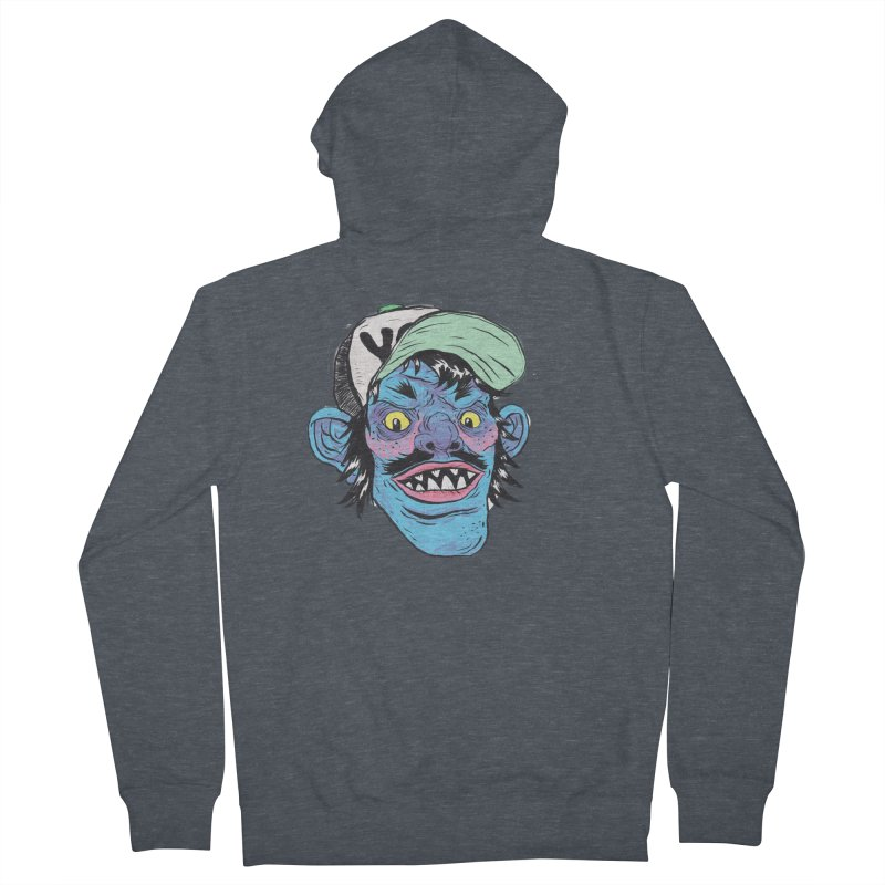 You look good enough to eat. Men's French Terry Zip-Up Hoody by daveyk's Artist Shop