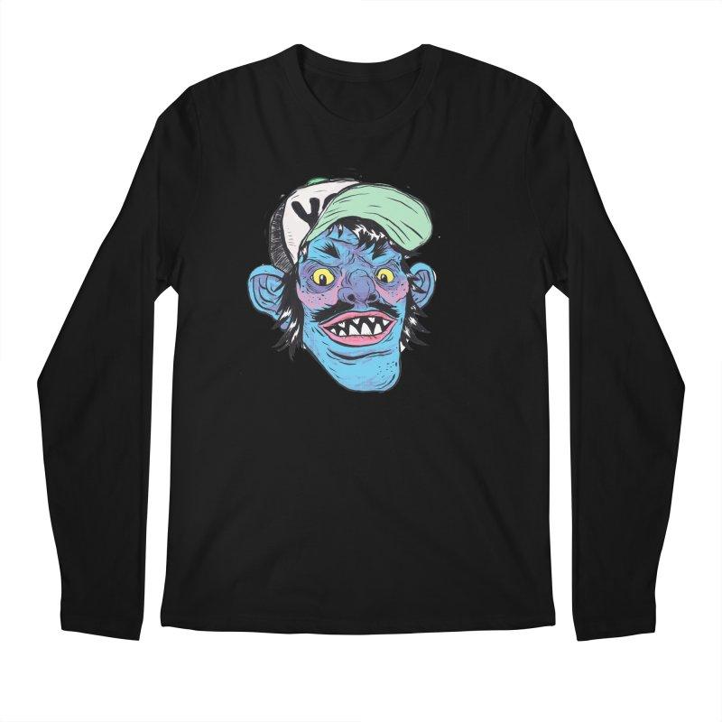 You look good enough to eat. Men's Longsleeve T-Shirt by daveyk's Artist Shop