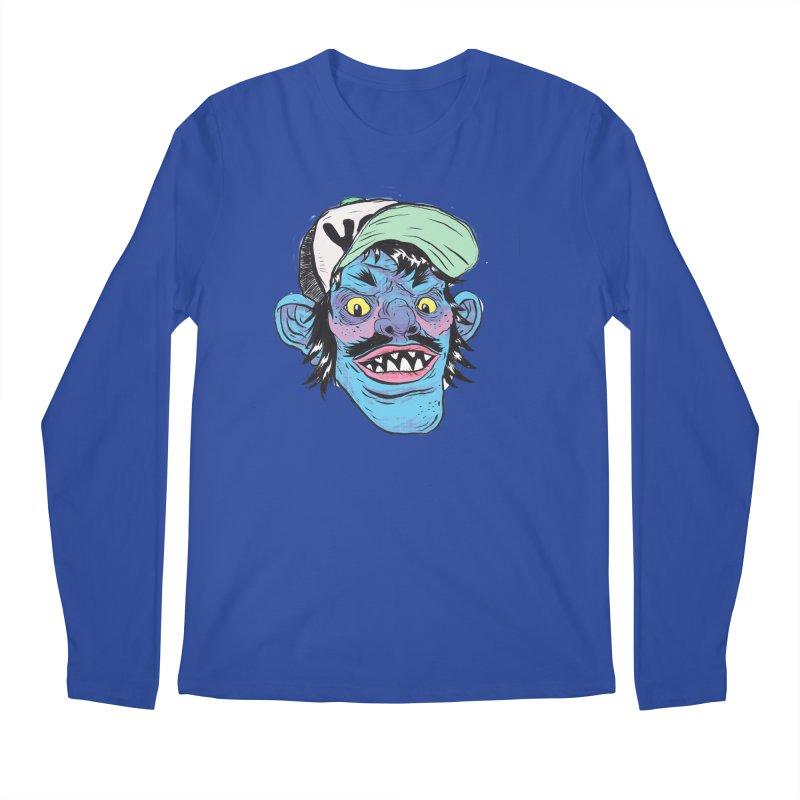 You look good enough to eat. Men's Regular Longsleeve T-Shirt by daveyk's Artist Shop