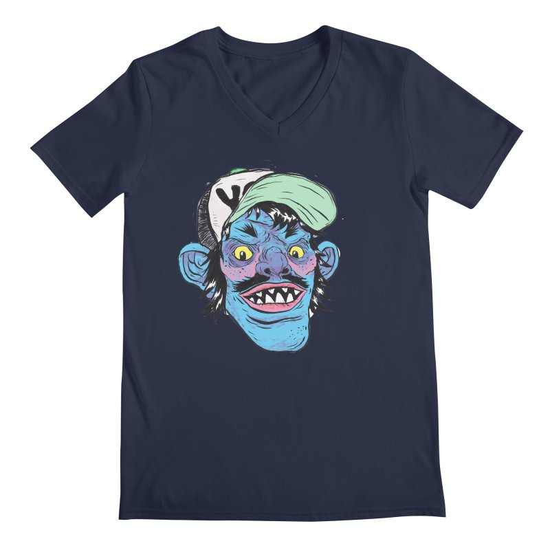 You look good enough to eat. Men's Regular V-Neck by daveyk's Artist Shop