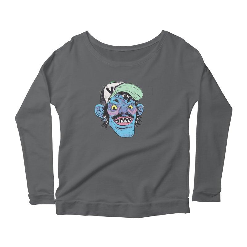 You look good enough to eat. Women's Scoop Neck Longsleeve T-Shirt by daveyk's Artist Shop