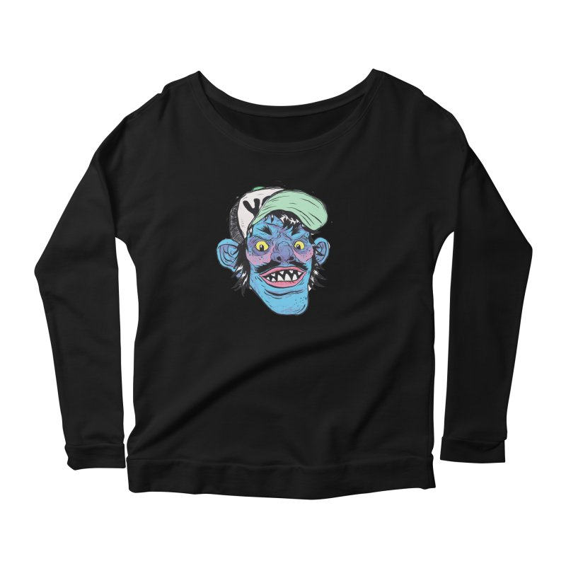 You look good enough to eat. Women's Scoop Neck Longsleeve T-Shirt by Davey Krofta