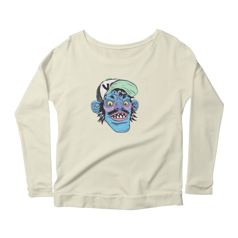 You look good enough to eat. Women's Longsleeve Scoopneck  by daveyk's Artist Shop