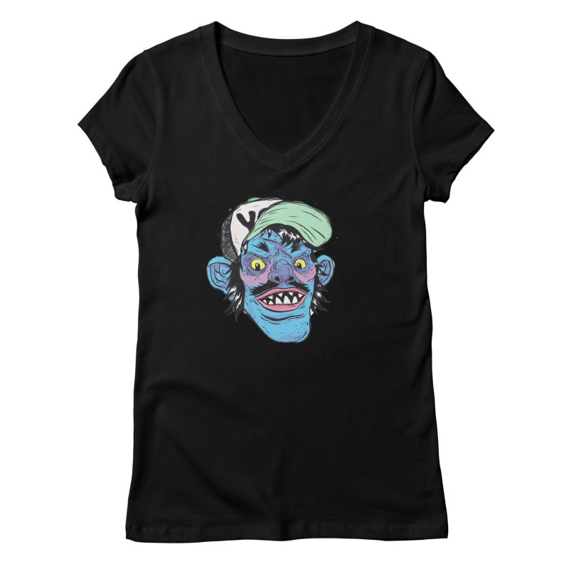 You look good enough to eat. Women's V-Neck by daveyk's Artist Shop