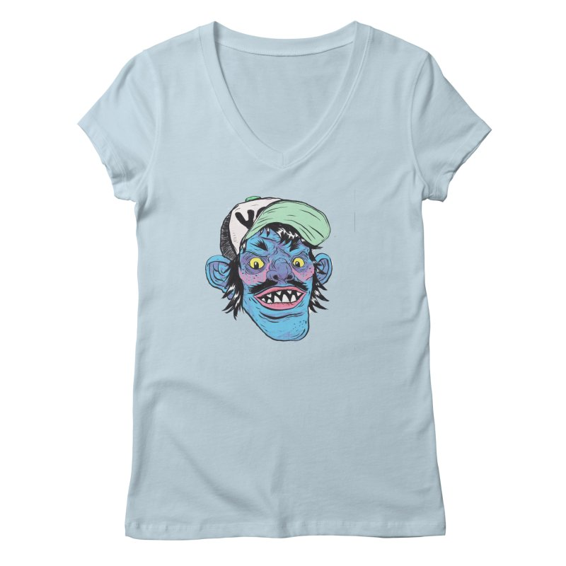You look good enough to eat. Women's Regular V-Neck by daveyk's Artist Shop