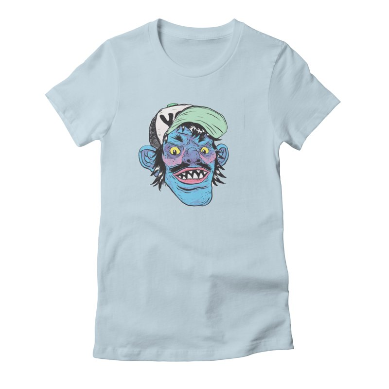 You look good enough to eat. Women's Fitted T-Shirt by daveyk's Artist Shop