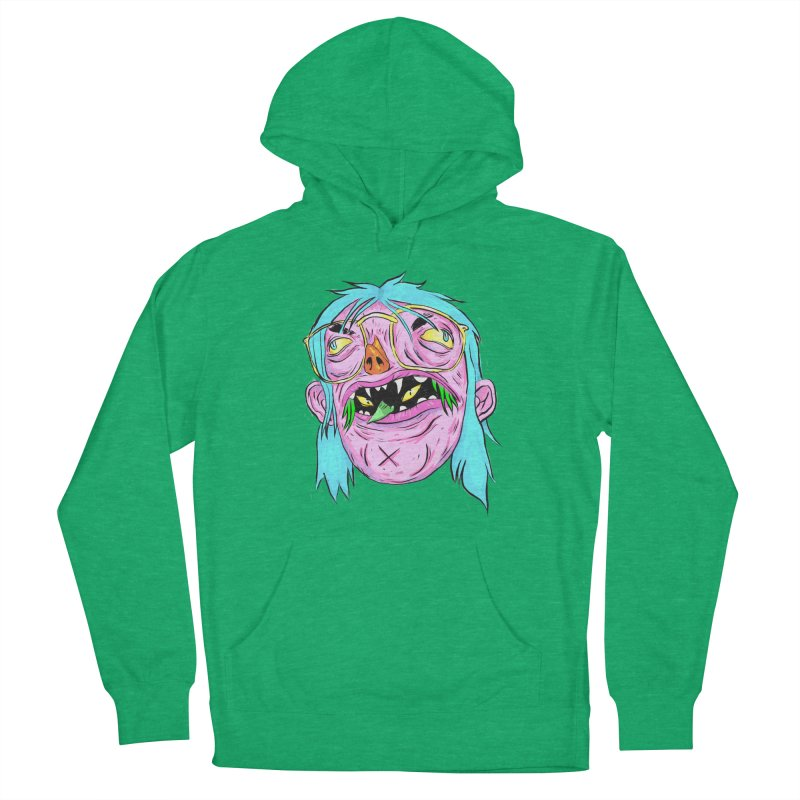 Peepin and Creepin Women's French Terry Pullover Hoody by daveyk's Artist Shop