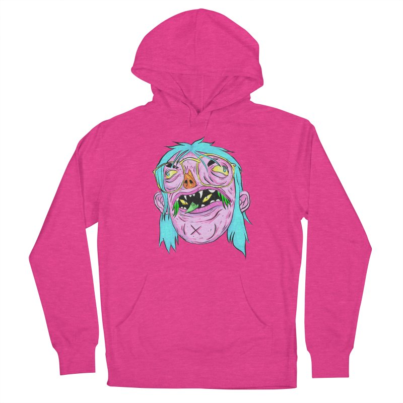 Peepin and Creepin Women's French Terry Pullover Hoody by Davey Krofta
