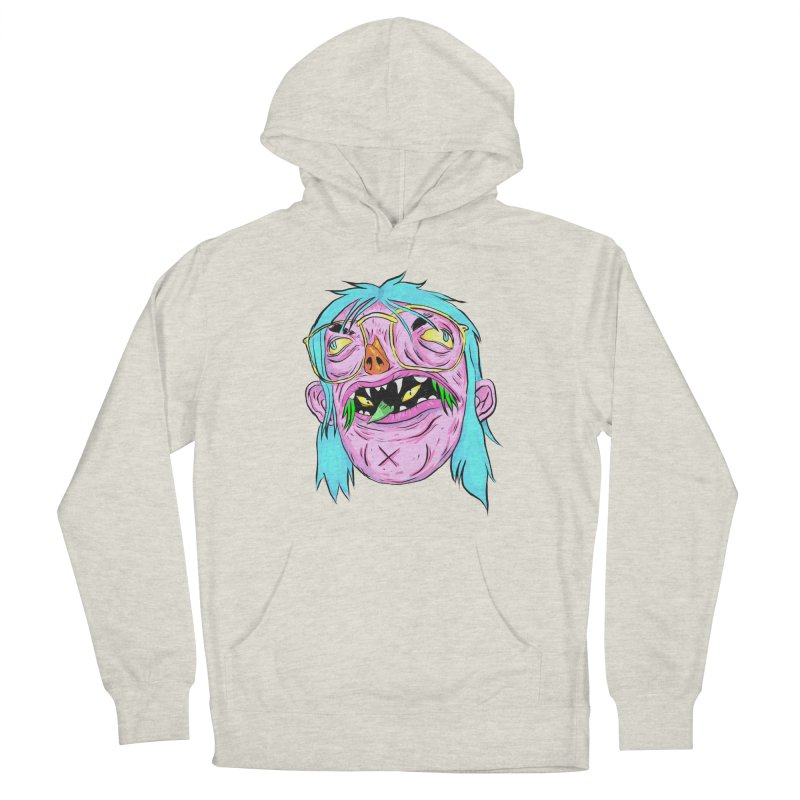 Peepin and Creepin Men's French Terry Pullover Hoody by daveyk's Artist Shop