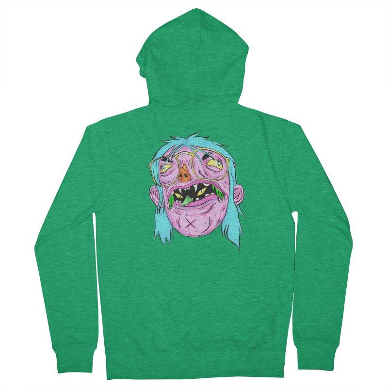 Peepin and Creepin Men's Zip-Up Hoody by daveyk's Artist Shop