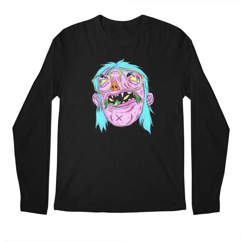 Peepin and Creepin Men's Regular Longsleeve T-Shirt by daveyk's Artist Shop