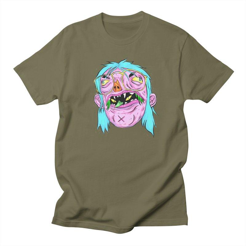 Peepin and Creepin Men's Regular T-Shirt by daveyk's Artist Shop
