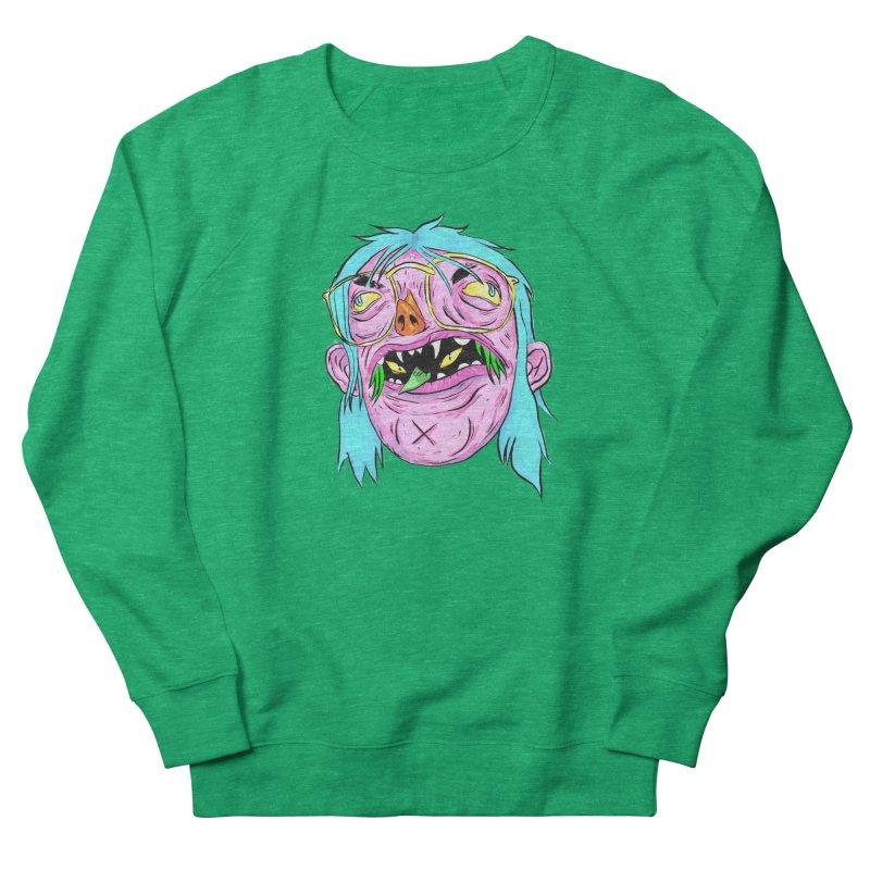 Peepin and Creepin Men's French Terry Sweatshirt by daveyk's Artist Shop