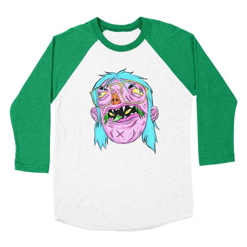 Peepin and Creepin Men's Baseball Triblend Longsleeve T-Shirt by daveyk's Artist Shop