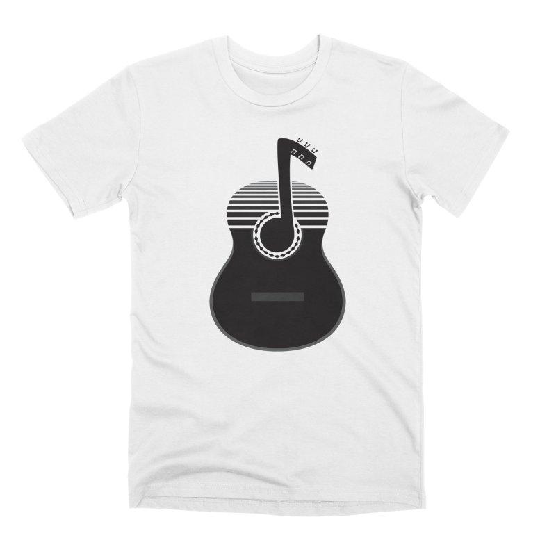 Classical Notes Men's Premium T-Shirt by DavidBS