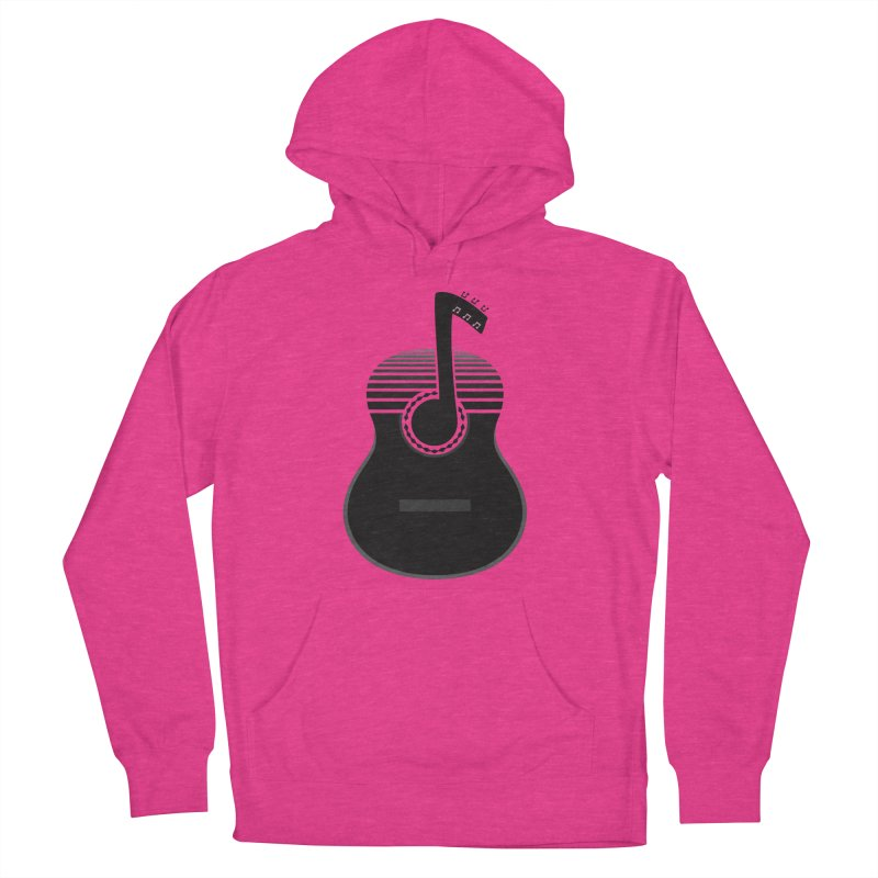 Classical Notes Women's French Terry Pullover Hoody by DavidBS