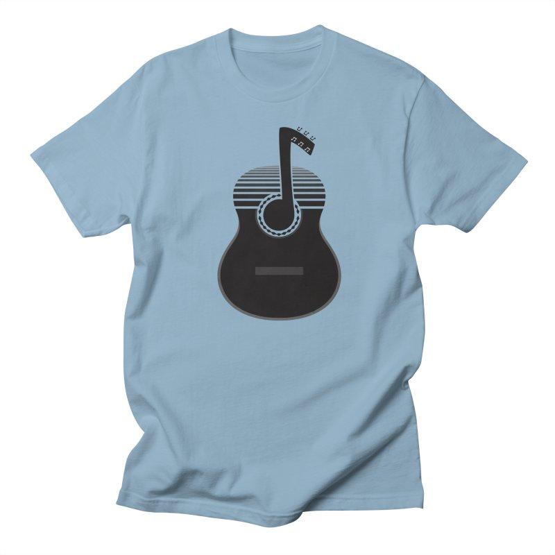 Classical Notes Men's Regular T-Shirt by DavidBS