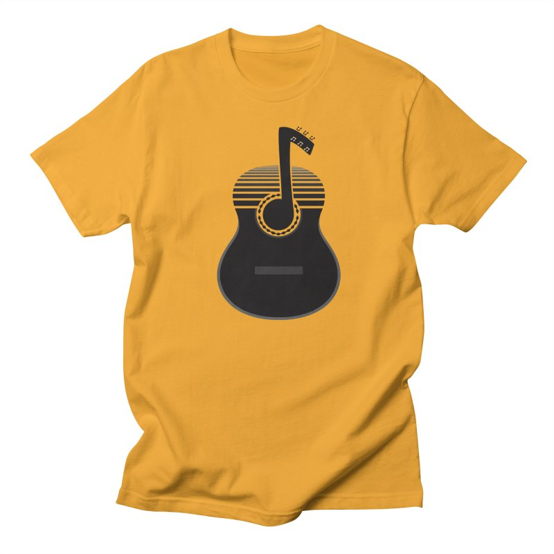 Classical Notes Men's T-shirt by DavidBS