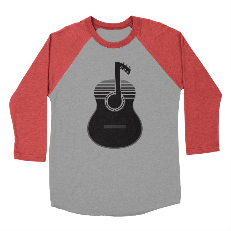 Classical Notes Men's Baseball Triblend T-Shirt by DavidBS