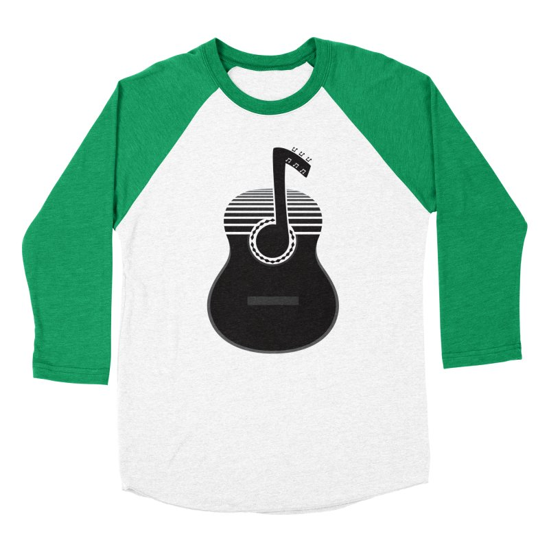 Classical Notes Men's Baseball Triblend Longsleeve T-Shirt by DavidBS