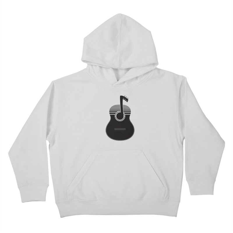 Classical Notes Kids Pullover Hoody by DavidBS