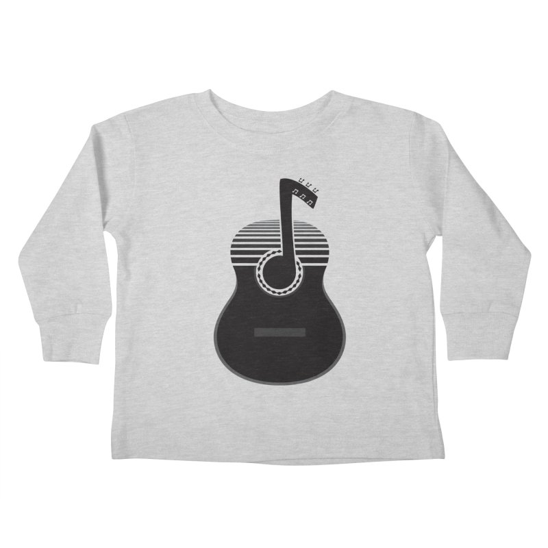 Classical Notes Kids Toddler Longsleeve T-Shirt by DavidBS