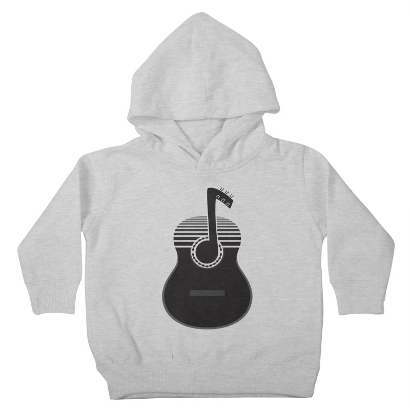 Classical Notes Kids Toddler Pullover Hoody by DavidBS