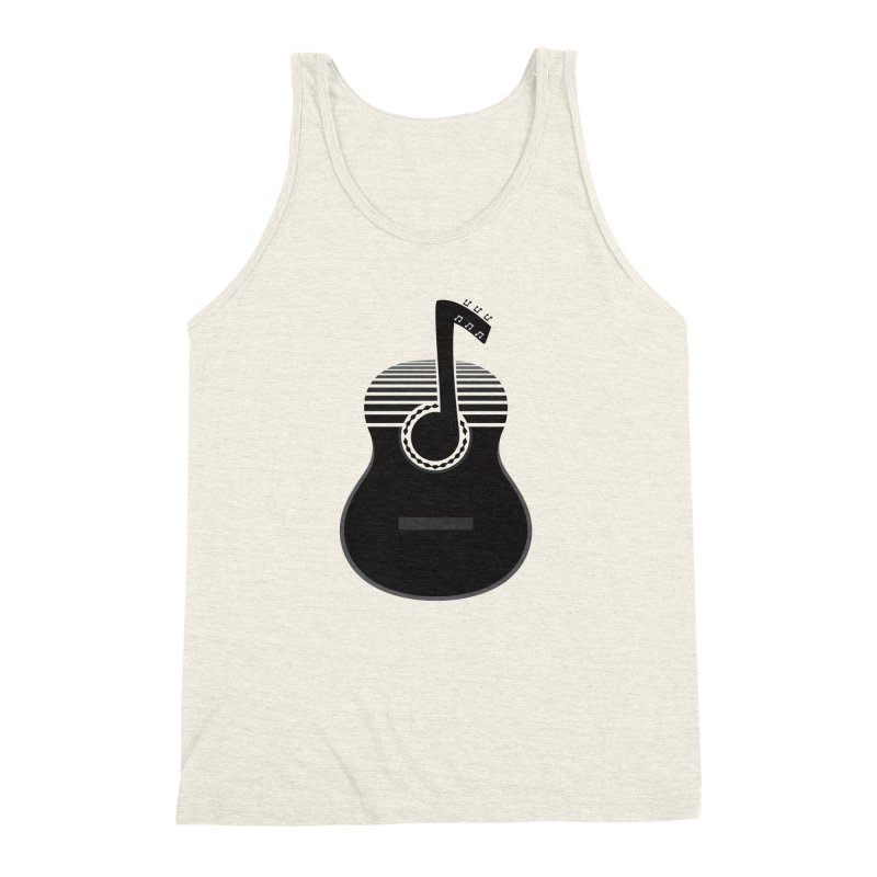 Classical Notes Men's Triblend Tank by DavidBS