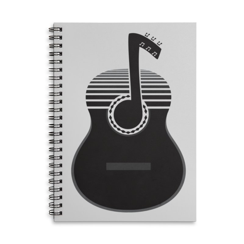 Classical Notes Accessories Lined Spiral Notebook by DavidBS