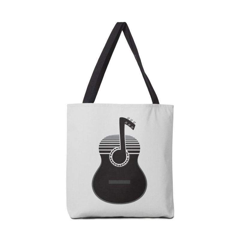 Classical Notes Accessories Bag by DavidBS