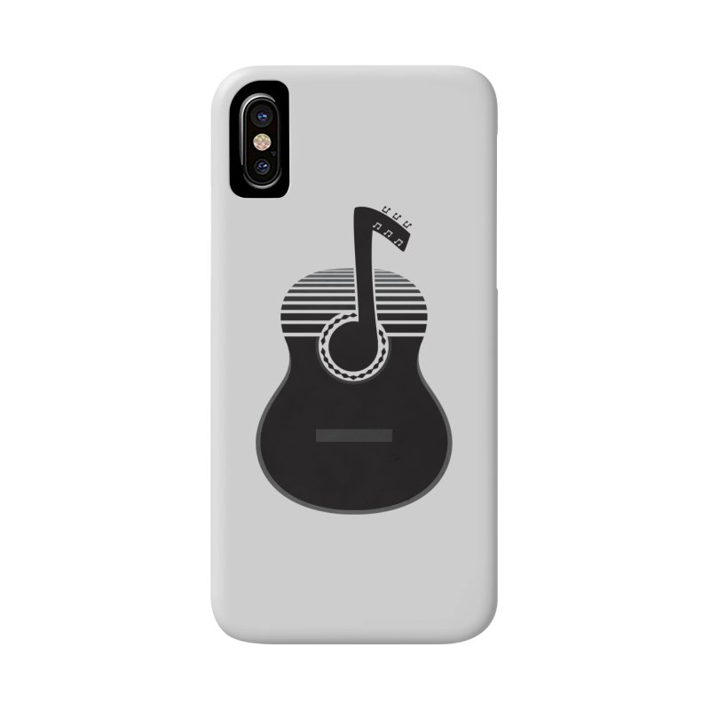 Classical Notes Accessories Phone Case by DavidBS