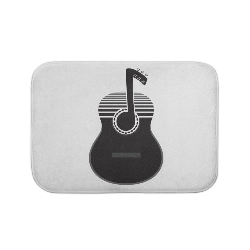 Classical Notes Home Bath Mat by DavidBS