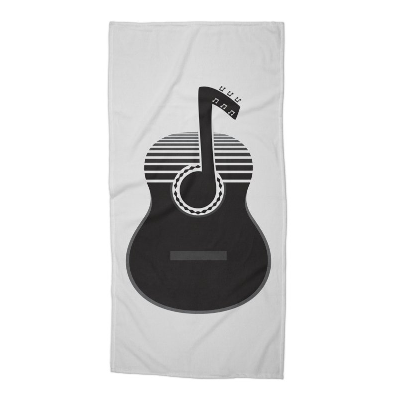 Classical Notes Accessories Beach Towel by DavidBS