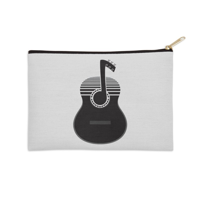 Classical Notes Accessories Zip Pouch by DavidBS