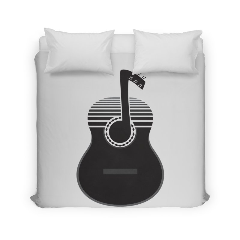 Classical Notes Home Duvet by DavidBS