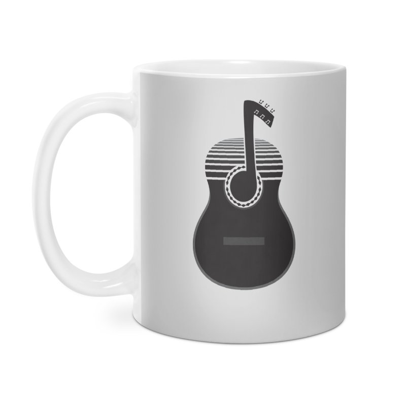 Classical Notes Accessories Mug by DavidBS